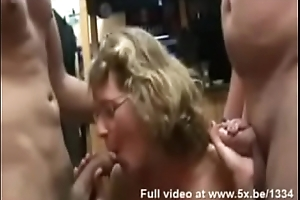 French milf fucked until she cum
