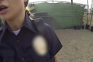Screw the Cops - Naughty cop squirts for everyone over dick