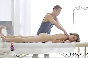 Hawt chick with moist shapes receives an agile fuckmate