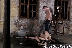 Male to scurvy bondage videos gay Chained to the warehouse floor and