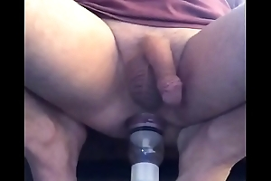 APPLYING AN ANAL PUMP More MY ALREADY ABUSED BUTTHOLE