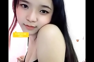 Cutie asian legal age teenager show primarily webcam