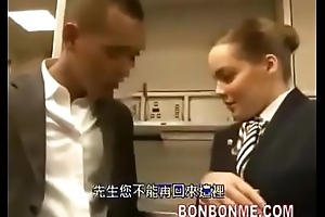 stewardess, blowjob