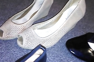 Stolen heels flats wedges wanting my sexy asian neighbour (Veronica)