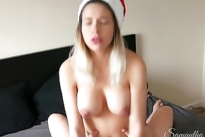 Mrs Santa gets her mince pie stuffed - Samantha Flair