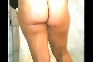 Ericakandy77 hotwife milf mom taking a shower heavy pawg butt cheeks dishevelled pussy tits