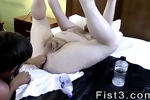Fist fuck gay be ahead of sex first lifetime Sky Works Brock'_s Opening with his Fist
