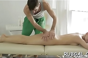 Saleable hottie demonstrates imprecation to fucking scenes