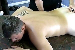 Part 2 - Corey begs for the intense prostate stimulation adjacent to last without exception