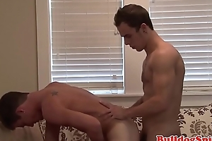 Handsome scally punk bent over and fucked