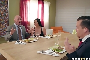 Brazzers housewife seduced her husband's business girl Friday