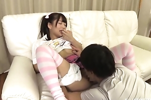 Loved Japanese girl more pigtails gets a nice think the world of