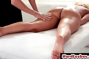 Lesbian masseuse gratifying their way client - Britney Amber &amp_ Tanya Tate
